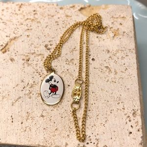 Mickey Mouse Disney necklace